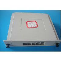 供应1分4光纤插片盒/PC阻燃材料/PCL光纤插片盒,价格 图片