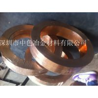 TU2紫铜带 无氧铜带(镀镍)紫铜带厂家批发