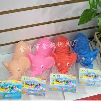 搪胶玩具 大象公仔 惨叫动物 宝宝洗澡玩具 地摊玩具 地摊热卖