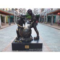 汉武大帝名人铜像 庄主严肃历史人物铸铜雕塑 城市公园外景铜雕