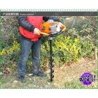 汽油地钻长度 润丰 树坑挖掘机 钻眼挖坑机
