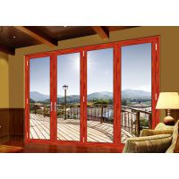 佛山博森特彩窗 高端庭院铝合金门窗 75断桥折叠门