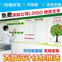 深圳白板厂家可卷可擦写光面可定制批发价格直销供应磁性文化墙