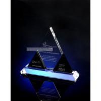 水晶奖牌定做,公司单位颁奖奖牌批发,上海水晶奖牌厂家