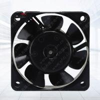 QFDJ-DC6025HB 12V直流高精密度双散热风扇 机箱散热专用大功率轴流风扇 厂家定制
