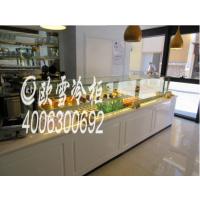 北京朝阳凯芙蒂甜品蛋糕柜展示柜蛋糕冷藏柜工程