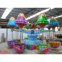 公园、游乐场、旅游景点游乐设备逍遥水母生产厂家许昌巨龙游乐