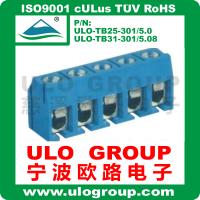 接线端子厂家直销 301-5.0间距 PCB螺钉式接线端子 宁波欧路电子019