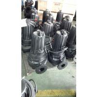 南京蓝深污水泵杂质泵带耦合装置WQ30-21-5.5KW型污泥潜污泵\蓝深潜污泵配件