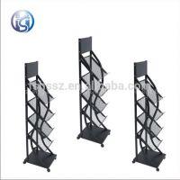 Practical multipurpose floor standing magazine display stand HS-ZL05