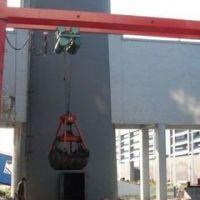 供应豪力 5吨 电动单梁抓斗起重机