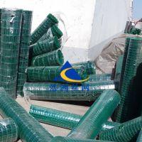 热镀锌电焊网浸塑铁丝网5x5 6x6荷兰网浩洲生产商绿色养殖网