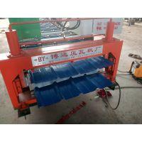 河南郑州哪里有卖博远压瓦机厂家840900型压瓦机设备