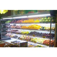 供应安德利 超市大型水果蔬菜风幕柜 酸奶牛奶保鲜展示柜 风幕柜价格