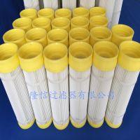 河北厂家销售1米高橡胶盖除尘滤筒 橡胶卡盘式滤筒