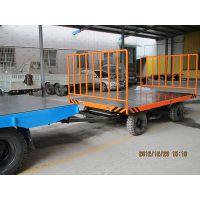 中运4T、3吨带车尾灯搬运特种双向牵引平板拖车