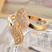 欧美时尚精致微镶AAA锆石戒指戒环饰品批发女外贸出口
