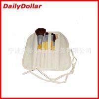 Ecotools 专业化妆刷套装组合 含原装包装袋 竹柄5件套化妆刷
