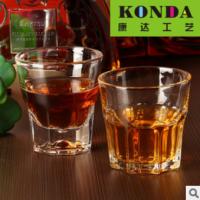 广州批发啤酒杯 248ML啤酒杯批发 八角玻璃杯 洋酒杯 直布罗陀水杯