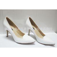 一件代发 时尚细跟高跟真皮单鞋 尖头鞋工作鞋新款甜美淑女鞋多色