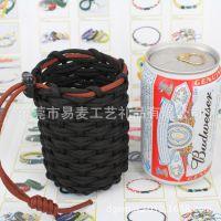 【东莞厂家】户外运动伞绳编织对讲机保护套 伞绳杯套 伞绳手机套