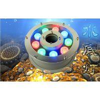 强壮供应厂家直销 LED水底灯9W12W15W18W36W喷泉灯泳池灯水下景观灯