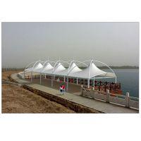 伞状膜结构亭子销售|帆型张拉膜景观设计安装|屋面 屋顶膜结构施工
