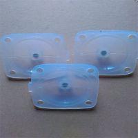 定制密封硅胶膜片 高回弹硅胶阀盖隔膜 东莞硅胶成型垫片