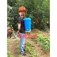 电动撒肥机 背负式撒肥机 施肥器 操作简单 效率高
