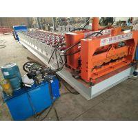 博远压瓦机厂供应800琉璃瓦压瓦机复古琉璃瓦