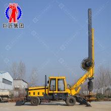 广西直供轮式旋挖机 华夏巨匠旋挖钻孔灌注桩机械厂随时供货