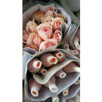 武汉玫瑰,百合等鲜花和富贵竹批发,水培玻璃瓶批发,湖北省内可发物流