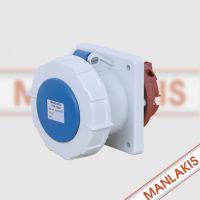上曼电气 NENMMAN TYP:1264 63A 3P防水检修箱插座 厂家直销