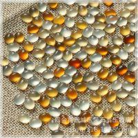 厂家批发 天然原色无烧色印尼料宝石光冰彩玉髓玛瑙 蛋面戒面