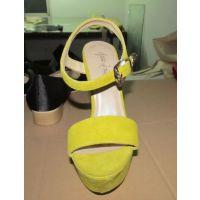 时尚高跟凉鞋大码和小码定制定做欧美外贸鞋厂
