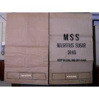 编织袋生产流程:原料PP(聚丙稀)→塑料拉丝机(将PP、PE原料制成丝线)