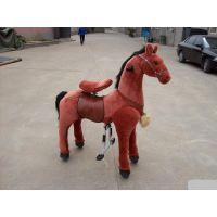 公园里的诸葛马,广场上儿童骑玩的玩具马,木牛流马,儿童玩具诸葛马价格