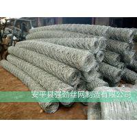 8号镀锌铅丝石笼网卷现货供应*8号镀锌丝石笼网厂家