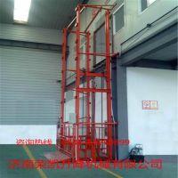 山东济南壁挂式升降机 6T固定导轨式升降货梯 价格便宜 质量保证