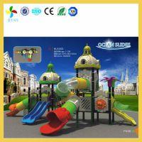 长沙室外儿童乐园组合滑梯价格|益阳小区幼儿园滑滑梯地胶铺设