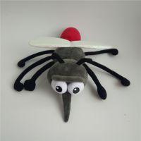 东莞工厂订制 毛绒玩具卡通动漫填充玩具动物蚊子公仔 礼品