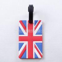 供应佳途时尚行李牌/旅游行李吊牌 登机牌 证件套旅游用品英国国旗