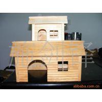 供应木头制工艺品。木制小房子