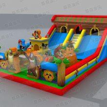 吹气滑梯玩具|吹气滑梯价格|吹气滑梯生产厂家|重庆儿童游乐厂