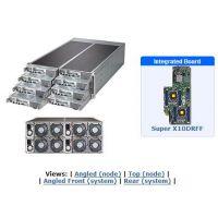 超微F618R3-FT 4U8节点FatTwin E5-2600v4v3准系统