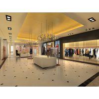 品牌服装购物空间装修设计 广州装修设计 广州装修公司