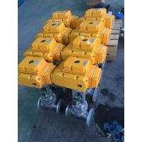 精小型电动截止阀,上海良工阀门,电动铸钢防爆截止阀