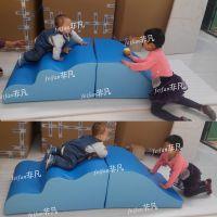 非凡感统训练攀爬玩具软包教具红黄蓝早教中心用品