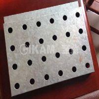 「至金CIKAM」银灰色φ16圆孔镀锌钢板外墙广汽传祺4店门