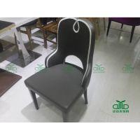 免费上门测量 超纤皮餐厅椅子直销定制优质西皮餐椅